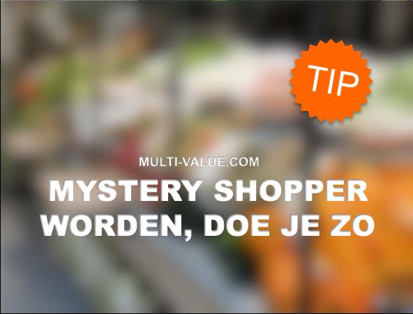 job mystery shopper nederland