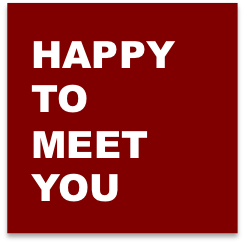 happy to meet you - multi-value